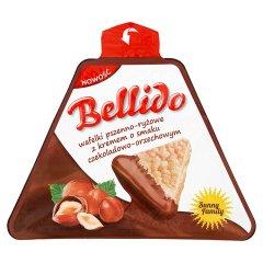 Bellido wafelki z kremem o smaku czekoladowo-orzechowym