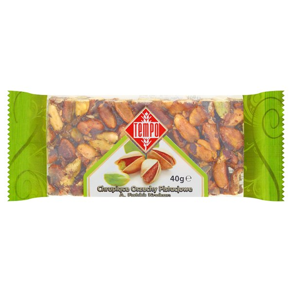 Tempo Chrupiące orzechy pistacjowe 40 g