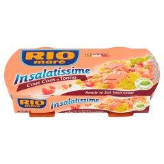 Sałatka z kuskus i tuńczykiem rio mare/2*160g