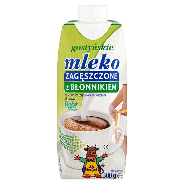 SM Gostyń Gostyńskie mleko zagęszczone z błonnikiem light 500 g