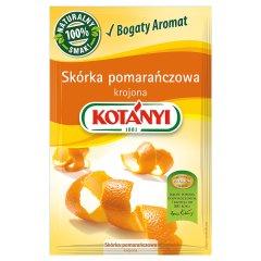 Skórka pomarańczowa krojona Kotanyi