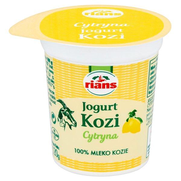 Jogurt kozi cytrynowy