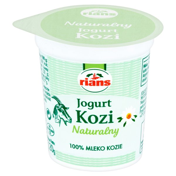 Jogurt kozi naturalny Rains