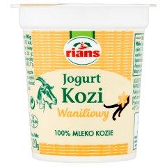 Jogurt kozi waniliowy Rians