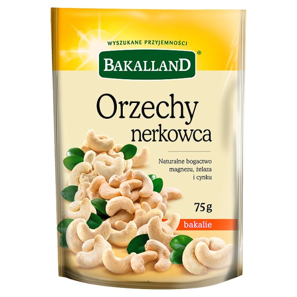 Bakalland Orzechy nerkowca 75 g