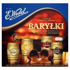 Bombonierka Baryłki Wedel