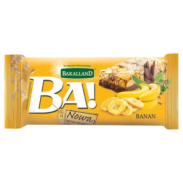 Baton zbożowy banan Ba! Bakalland