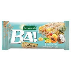 Baton zbożowy Ba! 5 owoców tropikalnych