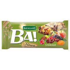 Baton zbożowy 5 bakalii Ba! Bakalland