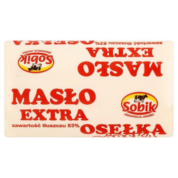 Sobik Masło ekstra osełka górska 300 g