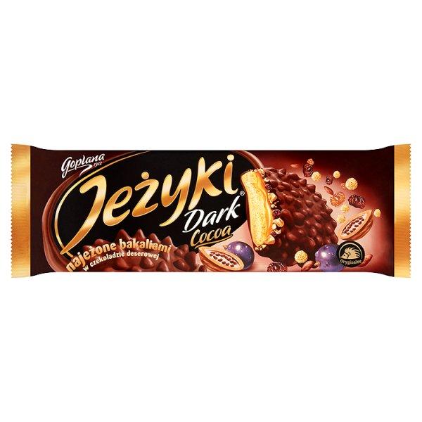 Ciastka Jeżyki Dark Cocoa