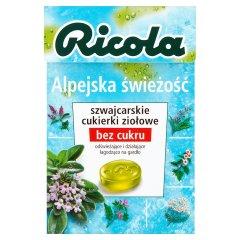 Cukierki ziołowe Ricola Alpine Fresh