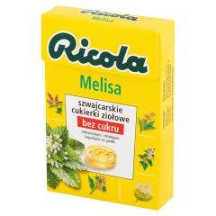Cukierki ziołowe Ricola Melisa