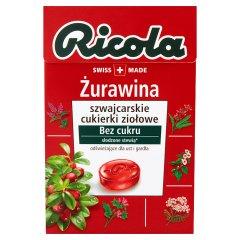 Cukierki ziołowe Ricola Żurawina