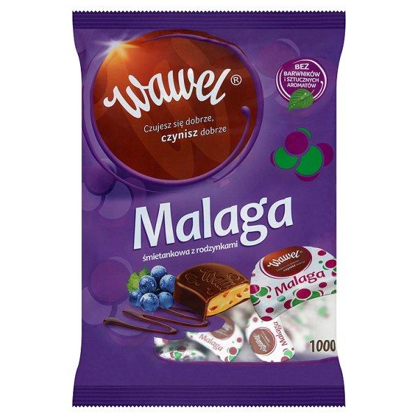 Cukierki Malga śmietankowe z rodzynkami Wawel