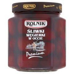 Rolnik Premium Śliwki węgierki w occie 540 g