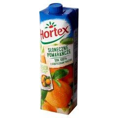 Sok Hortex pomarańcza z cząsteczkami