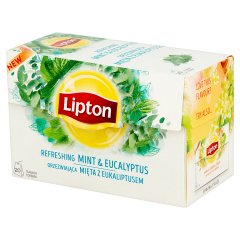 Herbata lipton mięta i eukaliptus