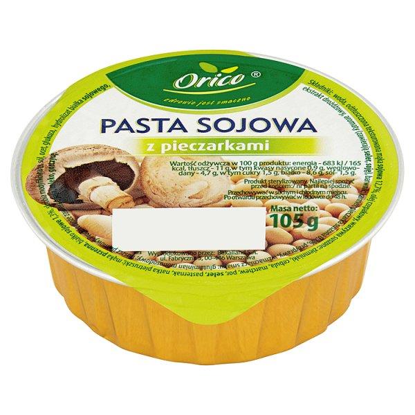 Pasta kanapkowa sojowa z pieczarkami z pieczarkami