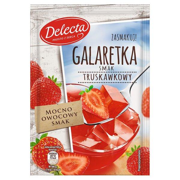 Galaretka Delecta truskawkowa