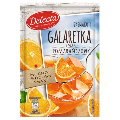 Galaretka Delecta o smaku pomarańczowym