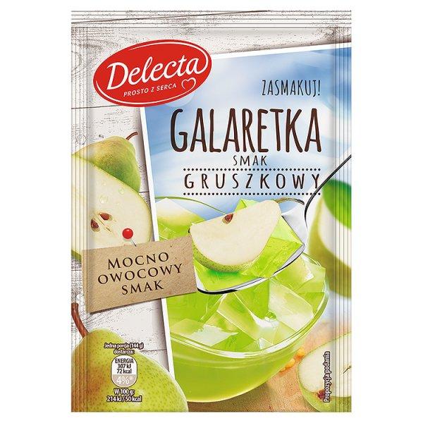 Galaretka Delecta gruszkowa