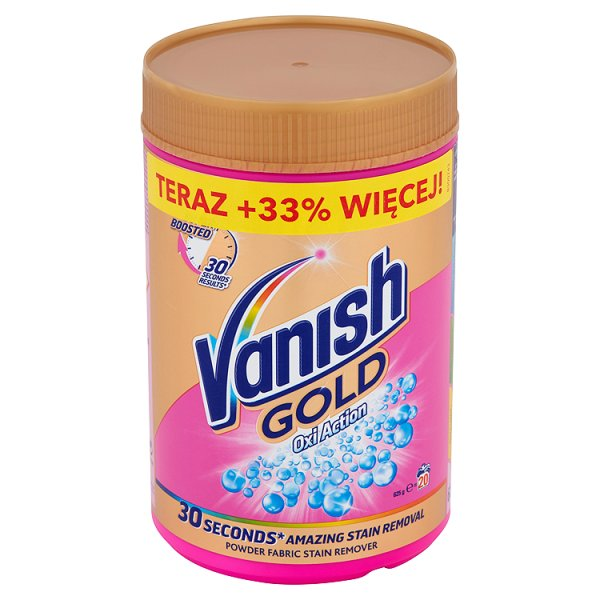 Odplamiacz Vanish gold pink