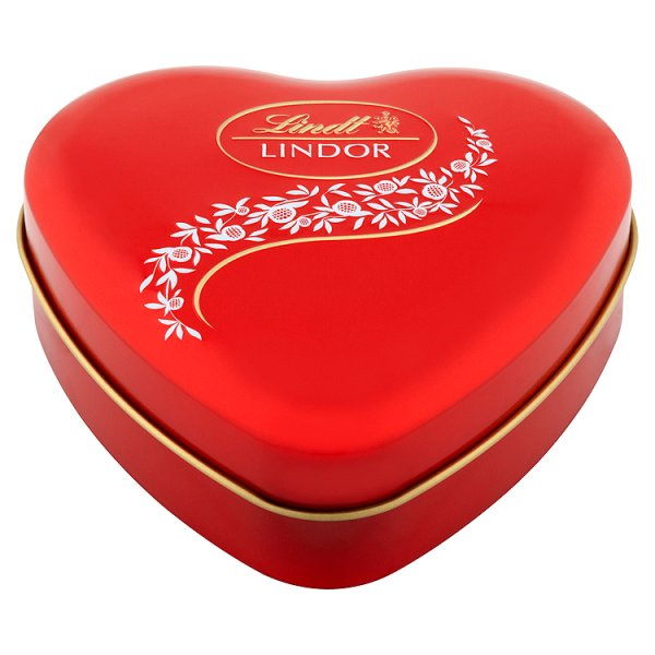Lindt Lindor Serce Pralinki z czekolady mlecznej z nadzieniem 50 g