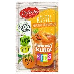 Kisiel owocowy kubek kids marchew-pomarańcza