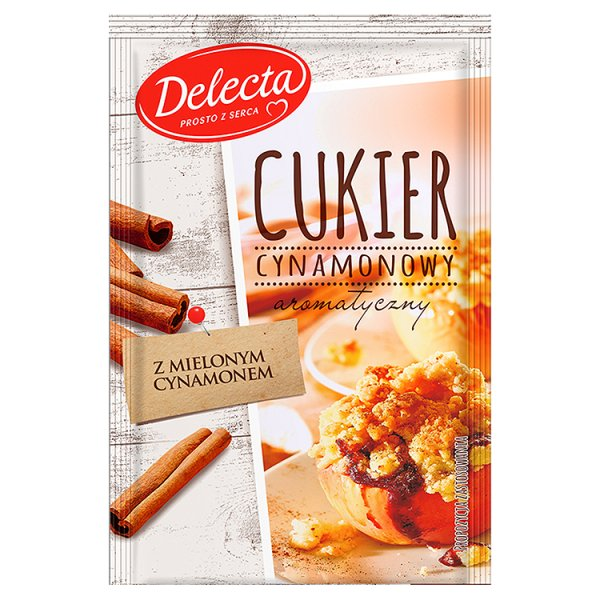 Cukier Delecta cynamonowy