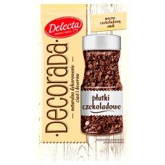 Posypka dekoracyjna płatki czekoladowe Delecta