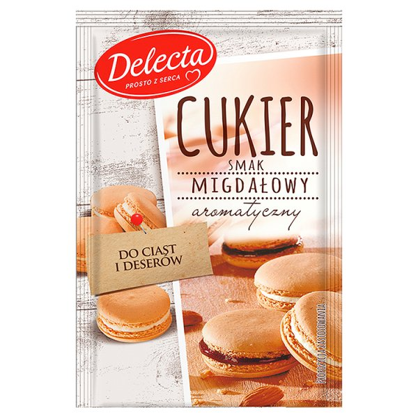 Cukier Delecta migdałowy
