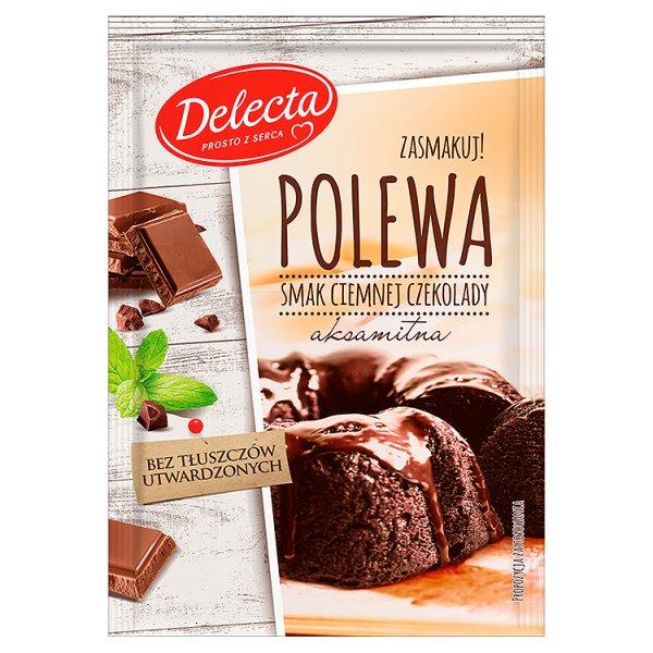 Polewa Delecta ciemna czekolada