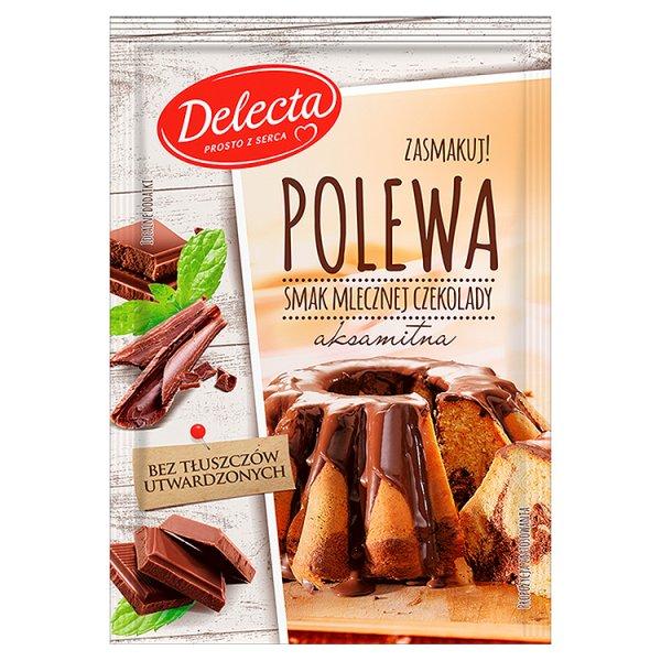 Polewa Delecta mleczna czekolada