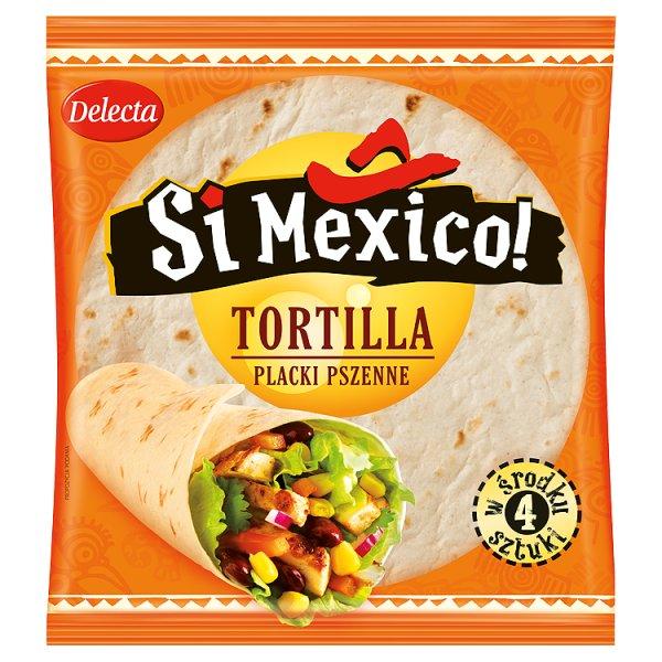 Tortilla Delecta Si Mexico! pszenne 4szt.