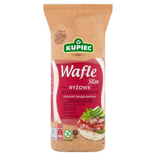 Kupiec Slim Wafle ryżowe wieloziarniste 90 g (18 sztuk)