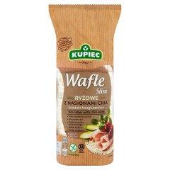 Kupiec Slim Wafle ryżowe z nasionami chia 90 g (18 sztuk)