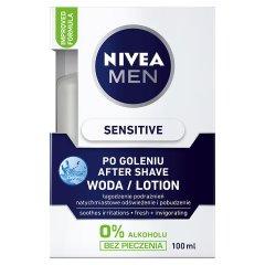 Woda Nivea For Men Sensitive łagodząca po goleniu