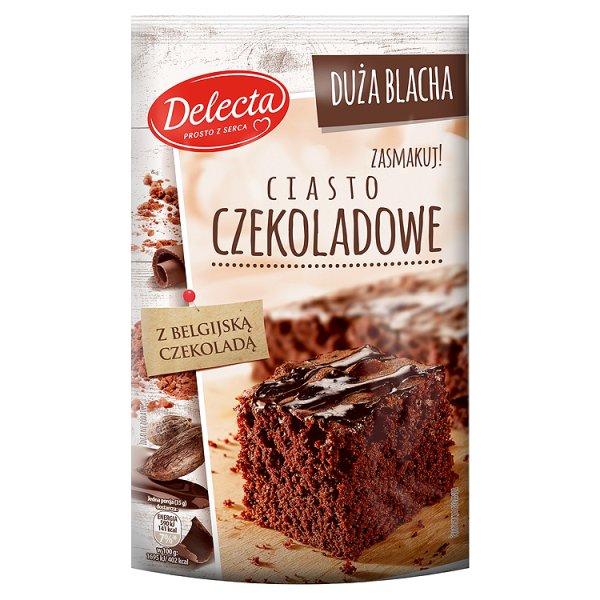 Ciasto Delecta Duża Blacha czekoladowe