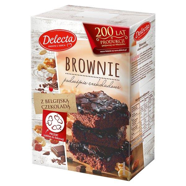 Ciasto w proszku brownie