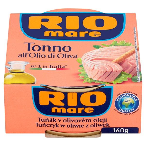 Rio Mare Tuńczyk w oliwie z oliwek 160 g