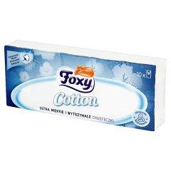 Chusteczki higieniczne foxy cotton /10*9szt