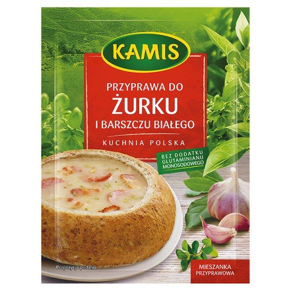 Kamis Kuchnia polska Przyprawa do żurku i barszczu białego Mieszanka przyprawowa 25 g