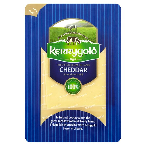Kerrygold Ser irlandzki Cheddar w plastrach 150 g