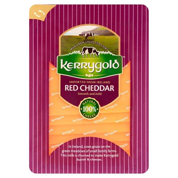 Kerrygold Ser irlandzki Red Cheddar w plastrach 150 g