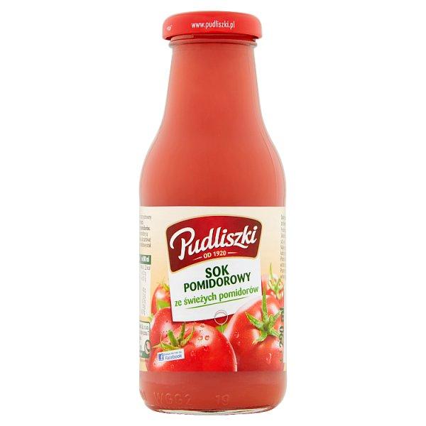 Pudliszki Sok pomidorowy ze świeżych pomidorów 290 ml