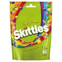 Cukierki Skittles Crazy Sours o smaku owocowym