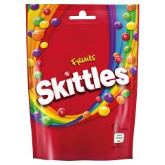 Cukierki Skittles Fruits do żucia o smaku owocowym