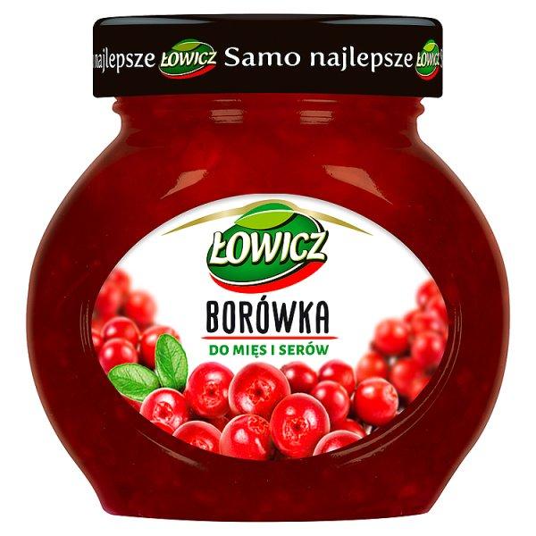Borówka Łowicz do mięs i serów