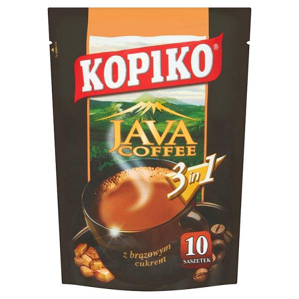 Kawa Kopiko Java 3w1 (10 saszetek)
